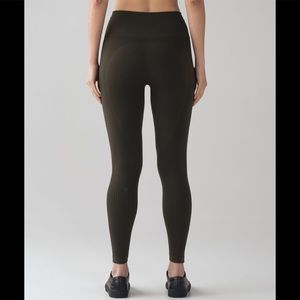 Lululemon Zone-In compression grey leggings